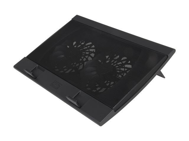 Logisys Computer Wind Pal Black Laptop Cooler Pad NP88BK
