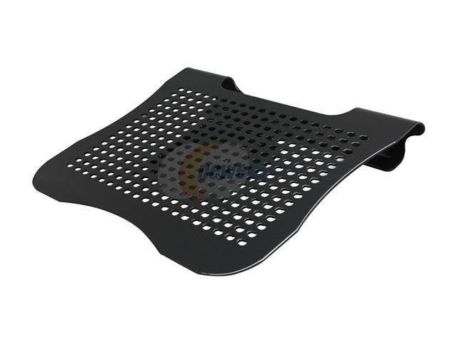 SYBA Laptop PC Cooling Stand with Adjustable 60mm Fan, Aluminum, Black SY-NBK68017