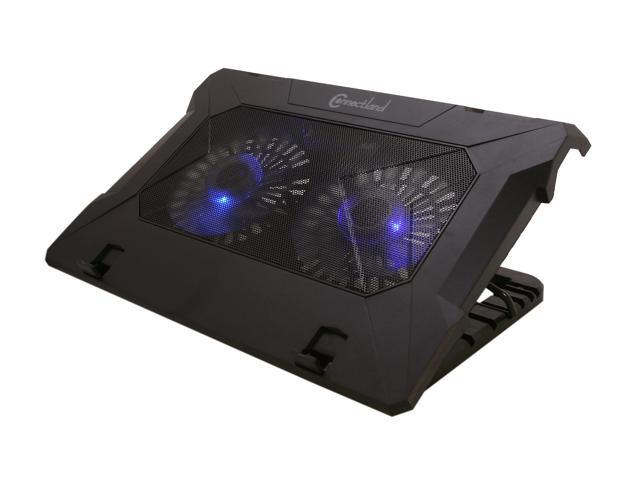 "SYBA Dual Fan Adjustable Cooling Stand for 19"" Large Notebook Computers CL-NBK68023"
