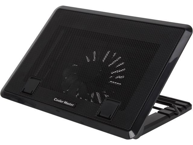 Cooler Master NotePal ErgoStand II - Adjustable Laptop Cooling Stand with LED Lighting