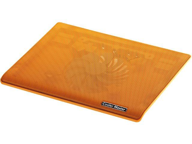 Cooler Master NotePal i100 - Laptop Cooling Pad with 140 mm Fan - Orange