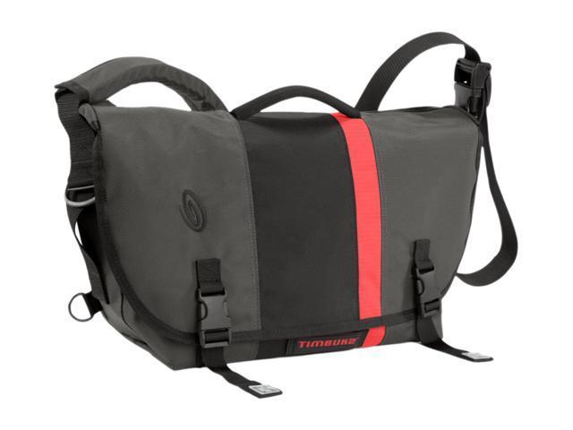 Timbuk2 Carbon Grey/Black/Bixie FC/Carbon Grey D-Lux Laptop Racing Stripe Messenger 165-2-2197 - S