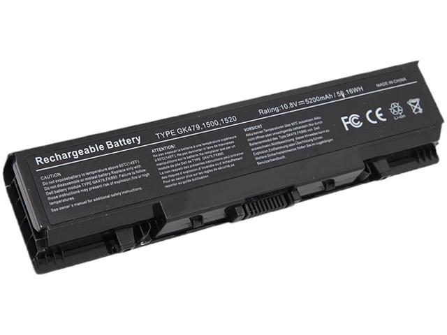 Arclyte - N00113W - Notebook Battery - Inspiron 1520, 1521, 1720, 1721, Vostro 1500, 1700 series (9-cell)