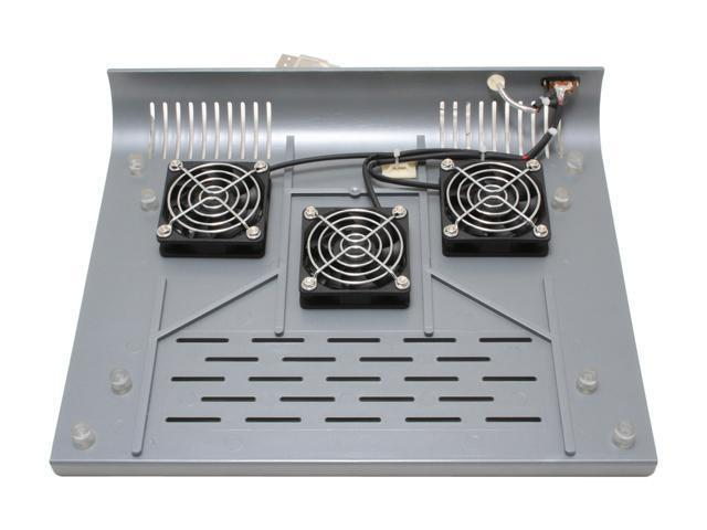 KINAMAX President Notebook Cooler Pad w/3 Built-in 60mm Fans for Laptops Model FAN-NTP3