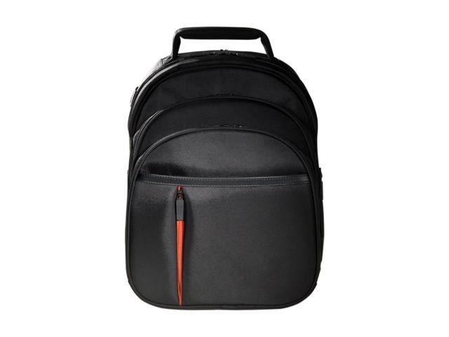"Eco Style Black 16.1"" Luxe BackPack Model ELUX-BP14"