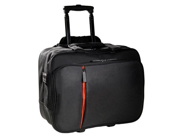 "Eco Style Black 15.6"" Luxe Rolling Case Model ELUX-RC14"