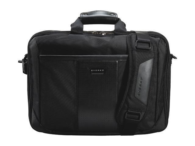"Everki Black 17.3"" Versa Premium Checkpoint Friendly Laptop Bag / Briefcase Model EKB427BK17"