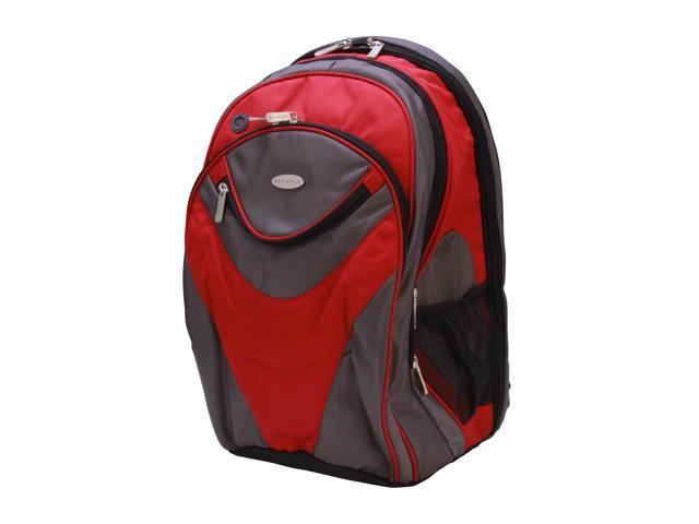 Eco Style Black/Red Sports Vortex Backpack Model EVOR-BP16-CF