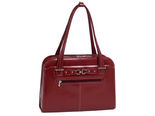 McKleinUSA Oak Grove W Series 96636 Ladies' Briefcase Red for Up to 15.4 Inches