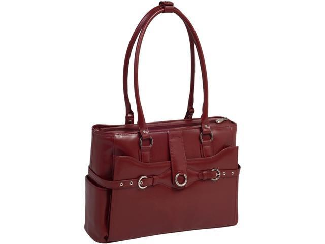 McKleinUSA Alexis W Series 96546 Ladies' Briefcase Red for Up to 15.4 Inches