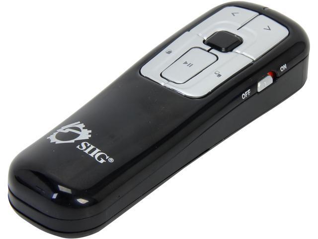 SIIG CE-WR0012-S1 2.4GHz RF Wireless Presenter