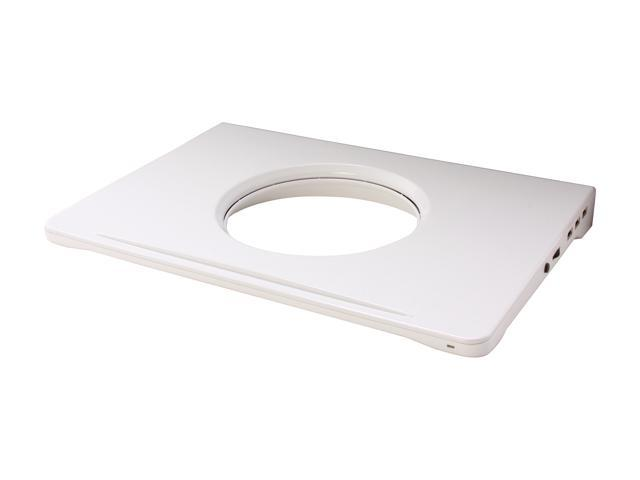 """NZXT White Notebook Cooler with 16"""" Support Cryo V60"""