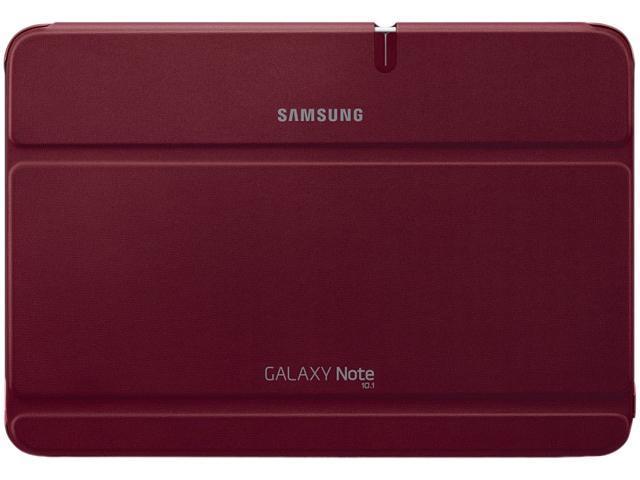 SAMSUNG Garnet Red Galaxy Note 10.1 Book Cover Model EFC-1G2NRECXAR