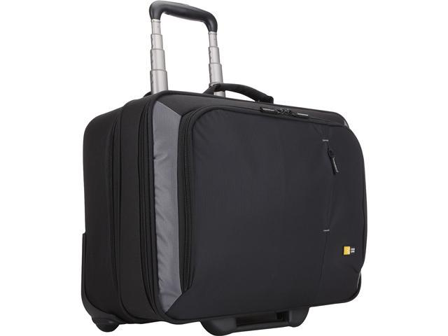 "Case Logic Black 17"" Rolling Laptop Case Model VNR-217"