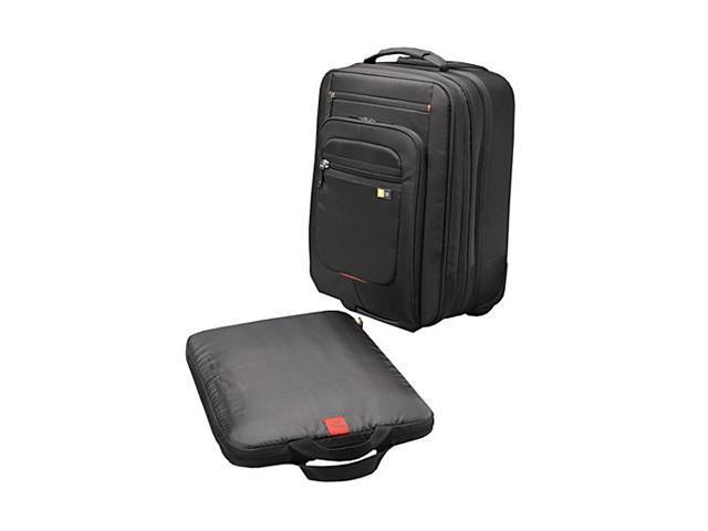 "Case Logic Black 17"" Security Friendly Laptop Roller Model ZLRS-117BLACK"