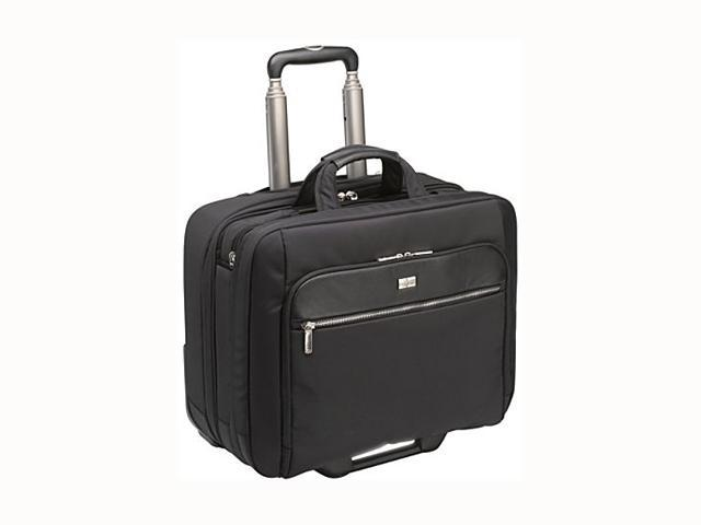 "Case Logic Black 17"" Security Friendly Rolling Laptop Case Model CLRS-117"