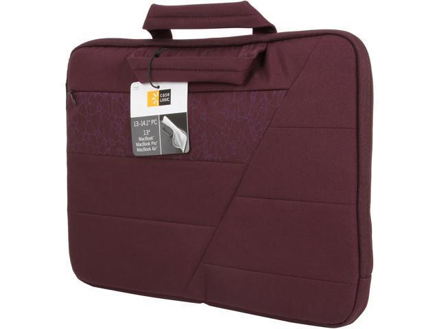 """Case Logic Tannin 13"""" - 14"""" Laptop Attaché Model UNS-114"""