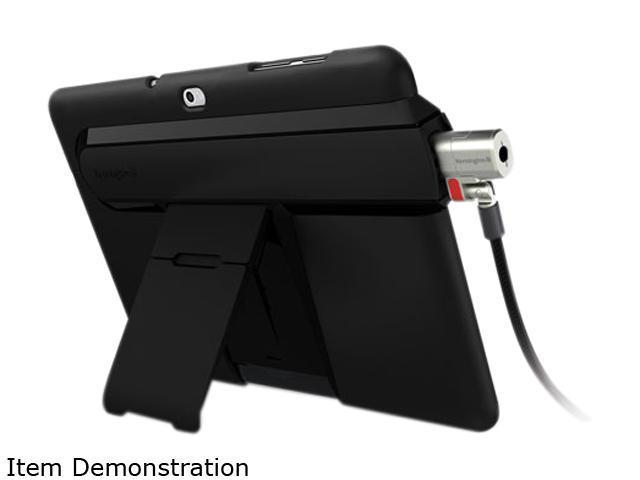Kensington Black SecureBack Security Case with 2-Way Stand Model K67735US