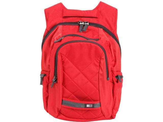 "Case Logic Red 16"" Laptop Backpack Model DLBP-116RED"