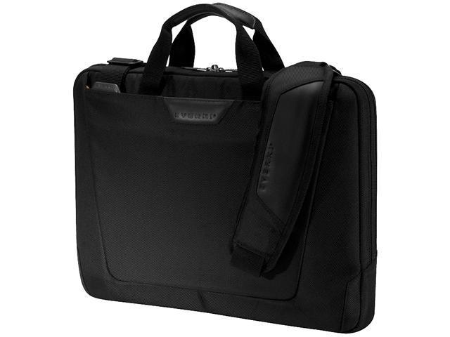 "Everki Black 16"" Agile Slim Laptop Bag / Briefcase Model EKB424"