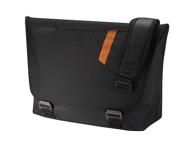 "Everki Black 15.6"" Track Laptop Messenger Bag Model EKS618"