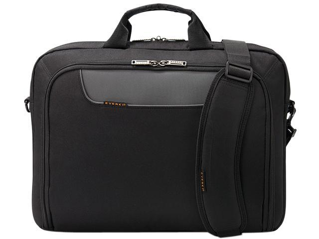 "Everki Black 18.4"" Advance Laptop Bag / Briefcase Model EKB407NCH18"