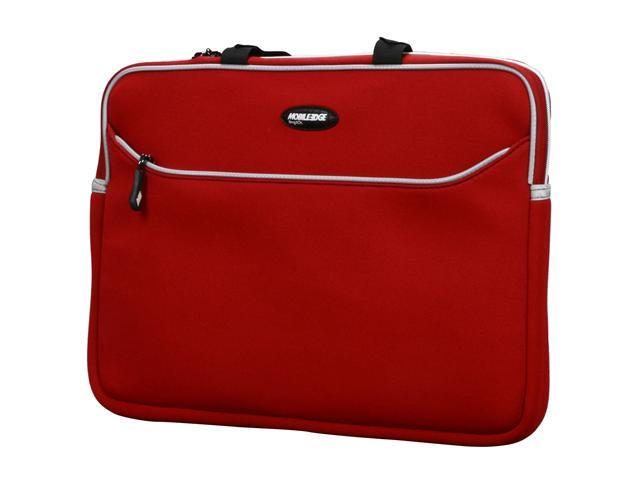 "Mobile Edge Red 15.6""/16"" SlipSuit Laptop Sleeve Model MESS7-16"