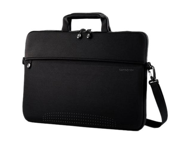 "Samsonite Black Aramon NXT 17"" Laptop Shuttle with Removable Shoulder Strap Model 43330-1041"