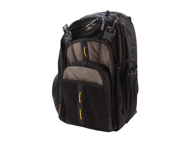 "Targus Black/Gray/Yellow CityGear 16"" Commuter Backpack Model TBB018US"
