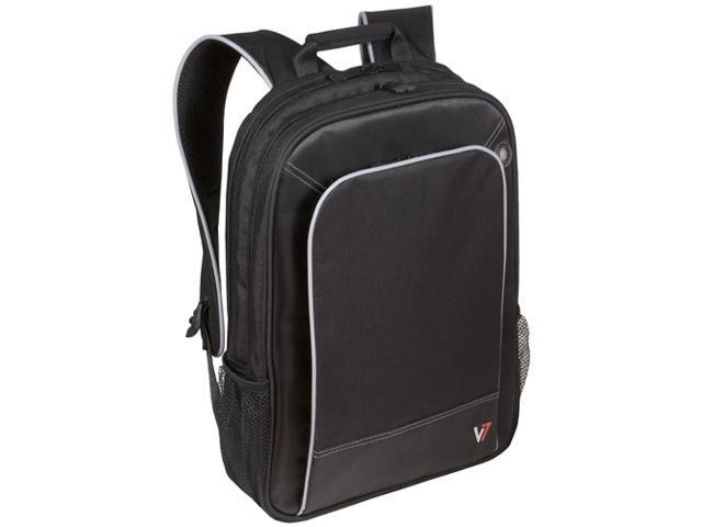 "V7 Black with gray accents 16"" Professional Laptop Backpack Model CBP1-9N"