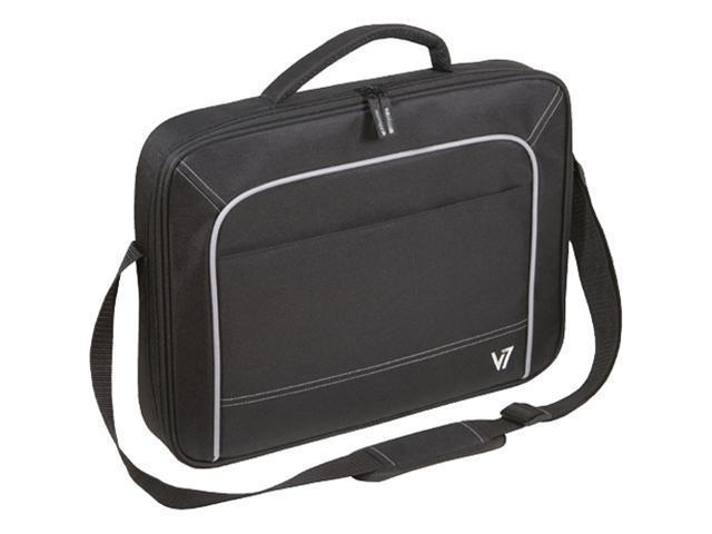 """V7 Black 16"""" Vantage Frontloader Notebook Case, Black Model CCV1"""