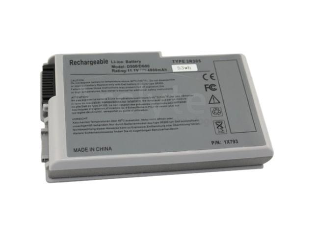 Arclyte N00100 Performance-Lithium Battery for Dell Inspiron 500m, D500,D530,D600,D610