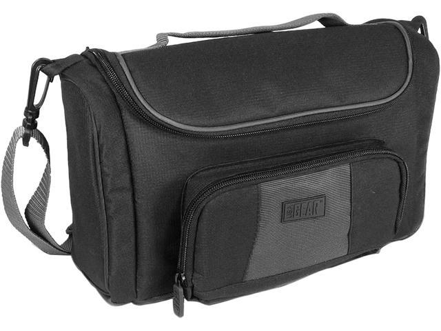 Accessory Power Black USA Gear Universal Carrying Case Bag with Weather Resistant Nylon and Adjustable Interior Divider Model ...