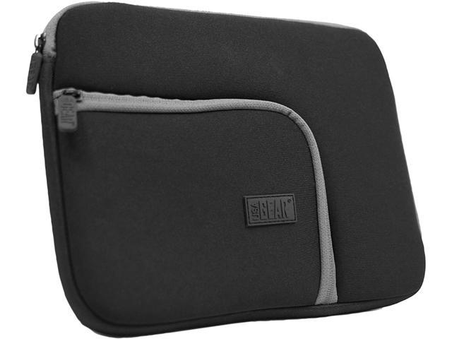 USA GEAR Protective Neoprene Tablet Sleeve with Zipper Pocket, Scratch-Resistant Lining & Slim Design - Works with WACOM Intuous Pen & Touch Medium, Bamboo Pen Touch, Fun Small & More!