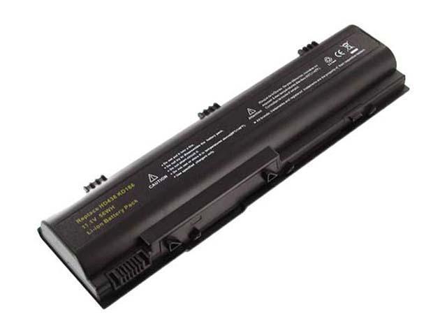 Battery-Biz B-5854 Hi-Capacity Laptop battery for Dell
