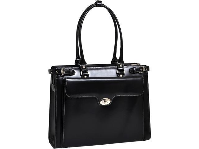 "McKlein Black 15.4"" WINNETKA W Series Ladies' Briefcase Model 94835"