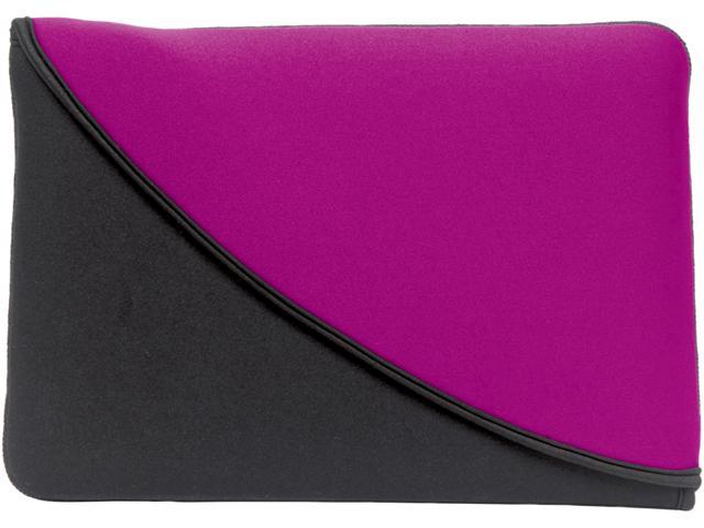"PC Treasures Black/Purple FlipIt! 10"" Neoprene Tablet Sleeve Model 07104"