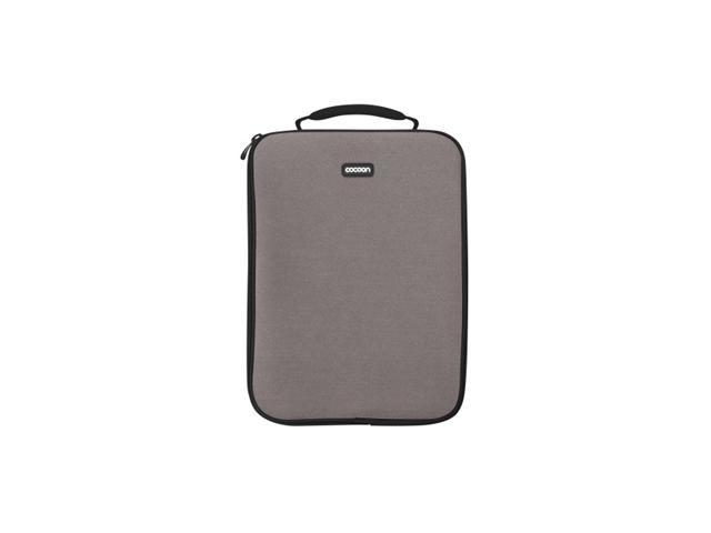 "Cocoon Gun Gray NoLita Neoprene Laptop Sleeve Up To 13"" Laptops Model CLS357GY"