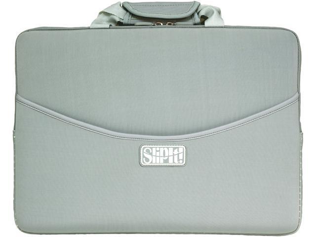 PC Treasures Gray / White SlipIt Notebook Case Model 07309