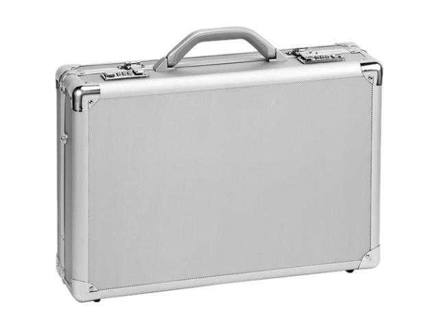 """SOLO Silver 17"""" Aluminum Attache Model AC100"""