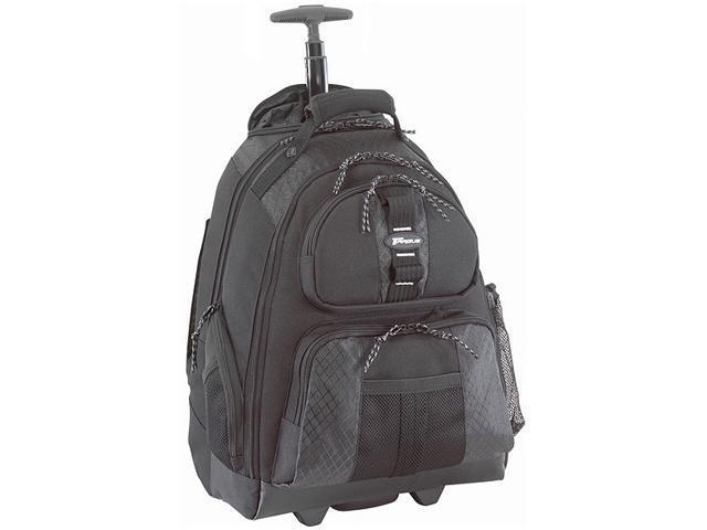 """Targus Black 15.4"""" Rolling Notebook Backpack Model TSB700"""