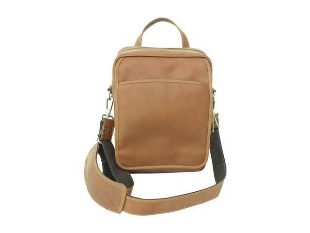 Piel LEATHER 2630-SDL Traveler's Men's Bag - Saddle