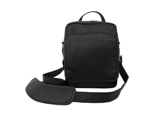 Piel LEATHER 2630-BLK Traveler's Men's Bag - Black