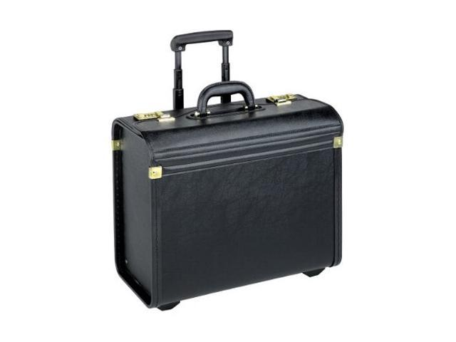 SOLO Black Classic Rolling Catalog Case Model K74-4