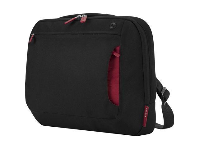 """BELKIN Jet Cabernet 10-12"""" Notebook Messenger Bag                                                                       Model ..."""