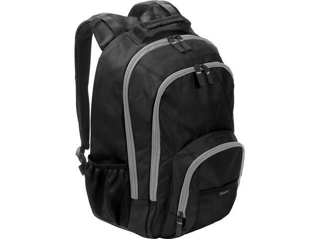 "Targus Black/Gray Accents 15.6"" BTS Groove Backpack Model TSB152US"