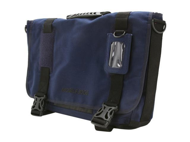 "Mobile Edge 17.3"" Eco Friendly Messenger Bag - Navy Blue"