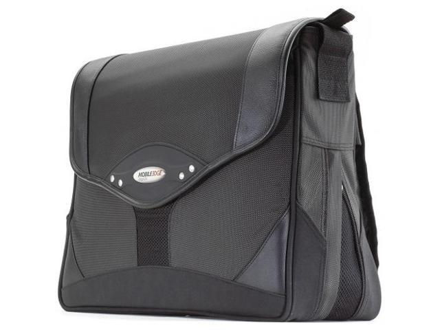 Mobile Edge Charcoal/Black Premium Laptop Messenger - 15.4