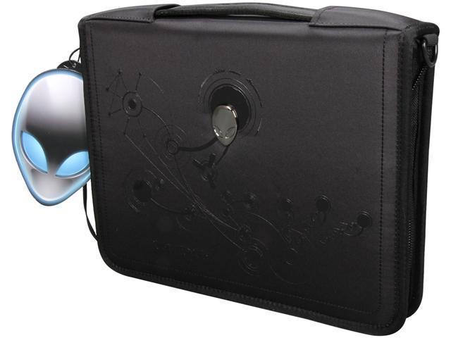 """Dell Black 11"""" Alienware M11x Laptop Neoprene Sleeve Model AWP01"""