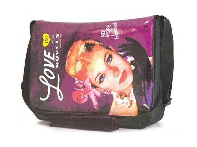 Mobile Edge Purple Maddie Powers Laptop Messenger - 15.4